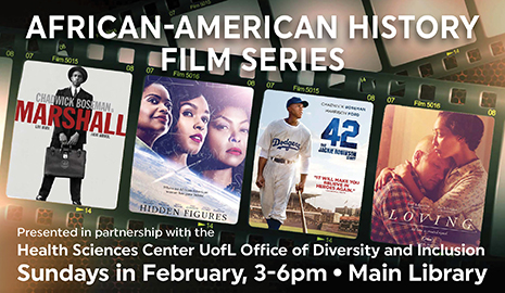 African American History Film Series, Sundays in February at the Main Library