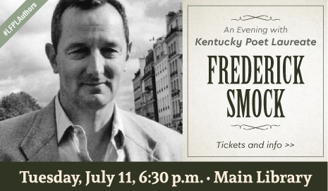 An Evening with Kentucky Poet Laureate Frederick Smock