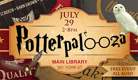 PotterPalooza returns to the Main Library July 29
