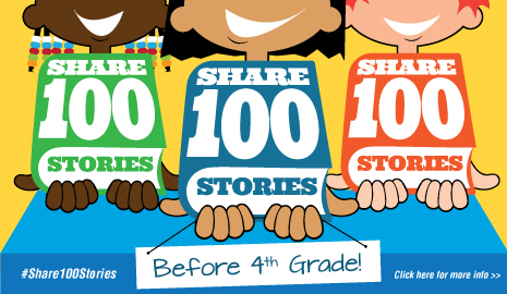 Share 100 Stories before 4th grde