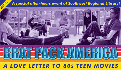 Brat Pack America: A Love Letter to 80s Teen Movies event. Click here for details.