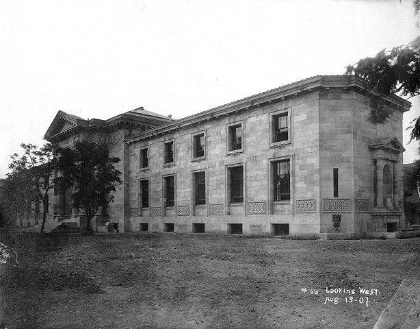 Louisville Free Public Library upon completion in 1907