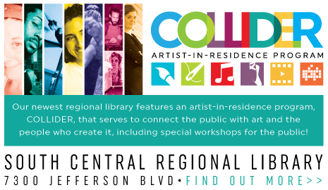 South Central Regional Library's new artist-in-residence program