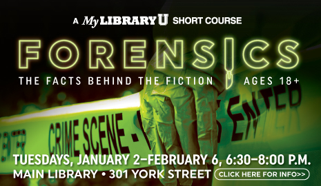 Forensics Short Course at the Main Library
