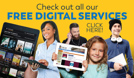 Free digital services at the library