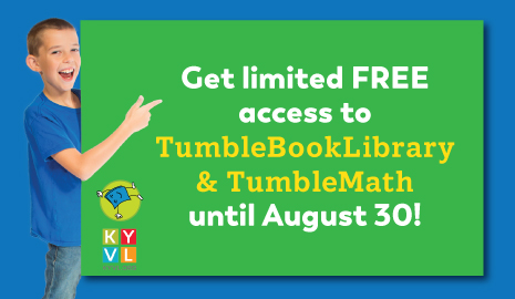 Limited Free access to TumbleBookLibrary and TumbleMath