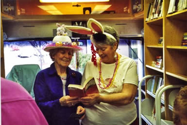 Bookmobile Patron