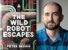 Award-winning author Peter Brown at the Main Library