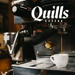 Quills Coffee is now open at the Northeast Regional Library