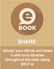Upload your eBook and share it with local libraries throughout the state