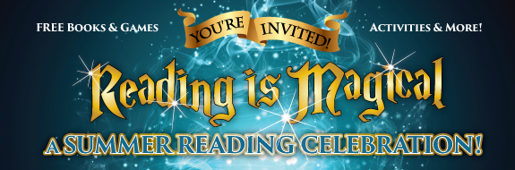 A summer reading celebration at main library