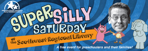 Super Silly Saturday at Southwest Regional Library