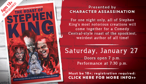 The Roast of Stephen King at Southwest Regional Library