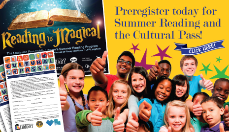 Register for Summer Reading and the Cultural Pass